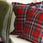 Essential Tartan Cushion