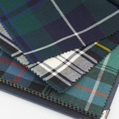 16oz Wool Tartan Fabric Swatches