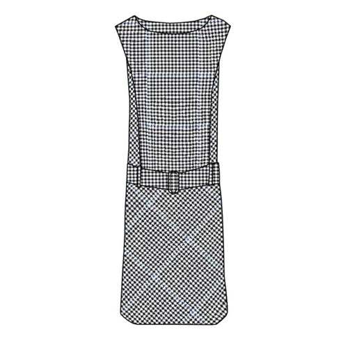 Tartan Shift Dress in Buccleuch Modern