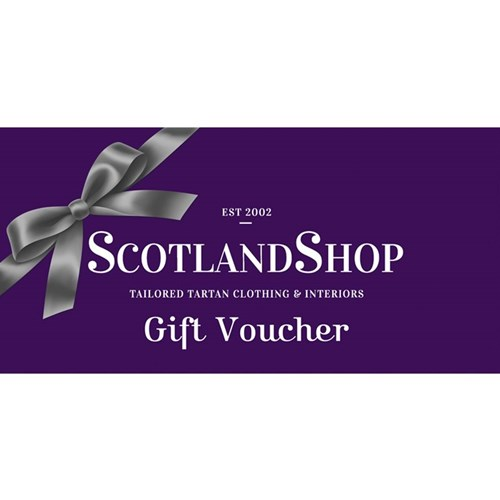 ScotlandShop.com Voucher in Send the voucher to me