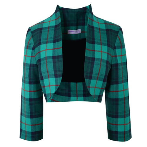 Tartan Bolero Jacket Made To Order