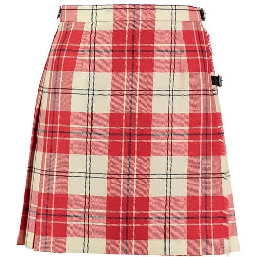 Tartan Mini Kilt in Arduaine Red BCH020