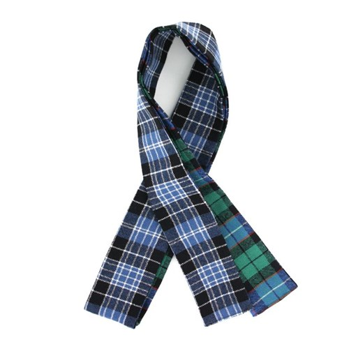 Tartan Handfasting Ribbon- Two Tartans Made To Order