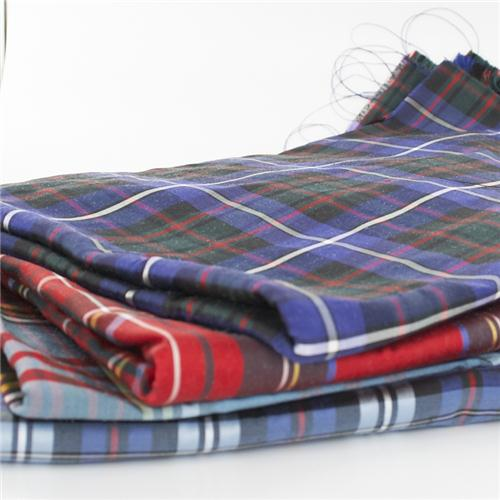 Silk Tartan Fabric Made To Order