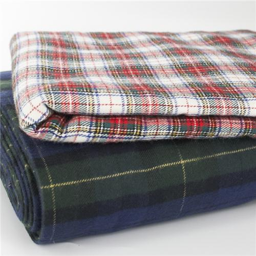 Brushed Cotton Tartan Fabric Made To Order